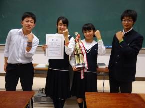 平成29年度岡山県高校生英語ディベート大会(岡山予選)報告