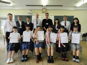第13回岡山県高等学校スピーチコンテスト 結果報告